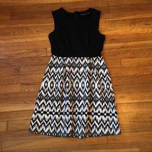 Cynthia Rowley B&W Dress